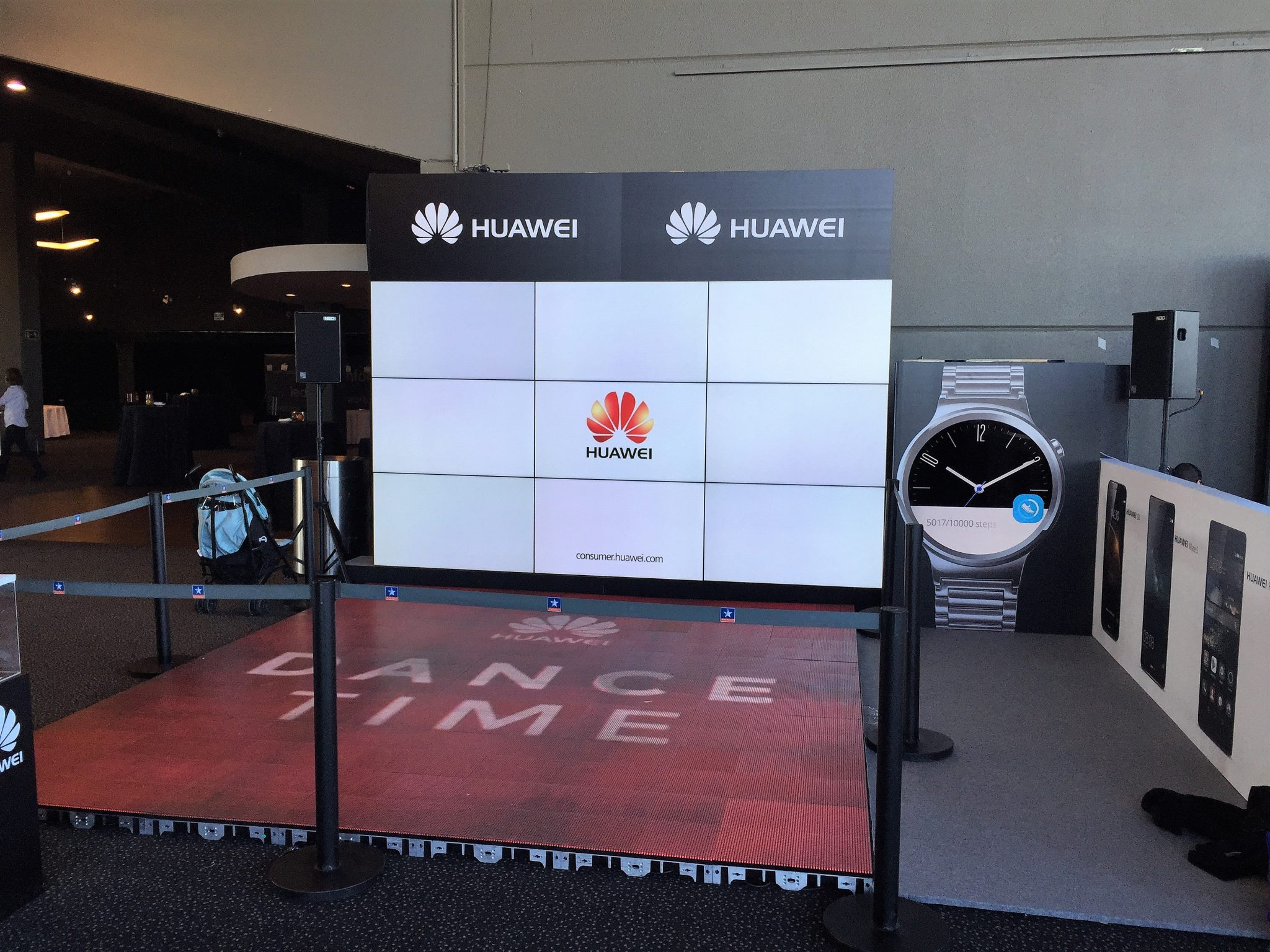 Zenit Event Experts. Stand Huawei.