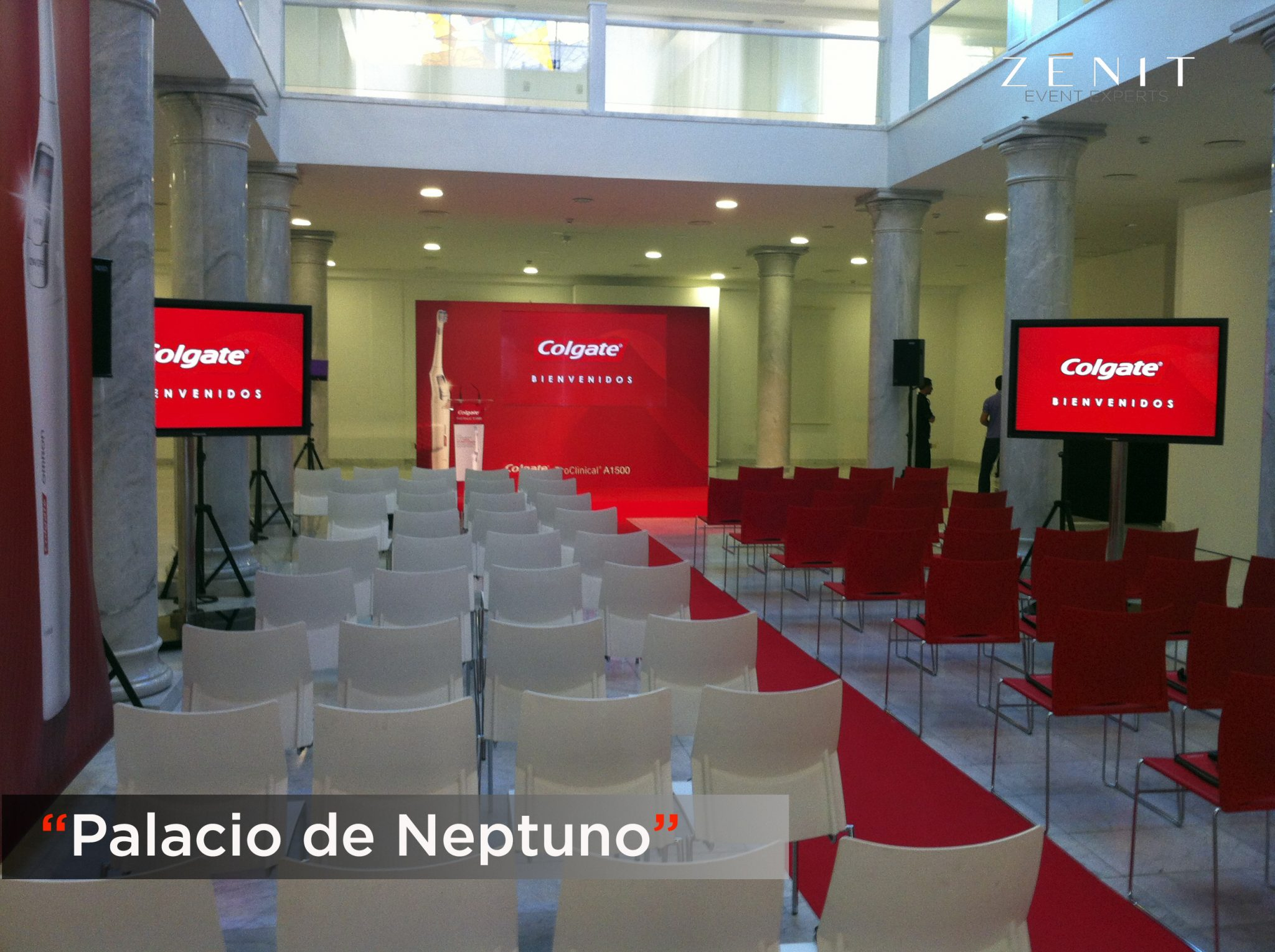 Zenit Event Experts. Palacio de Neptuno.