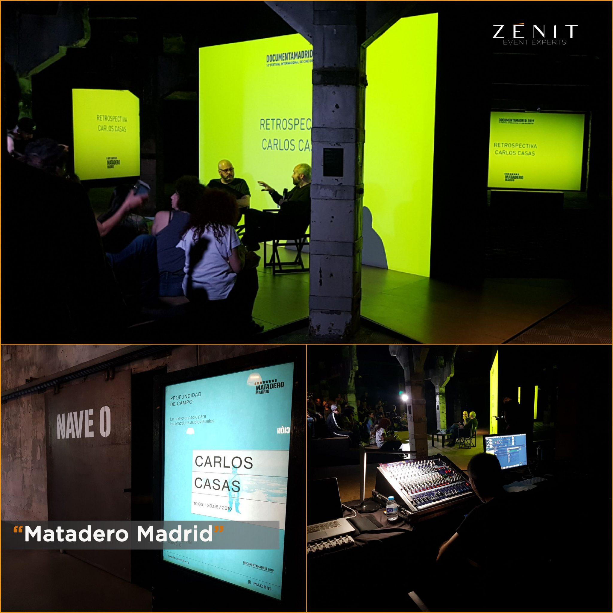 Zenit Event Experts. Matadero Madrid.