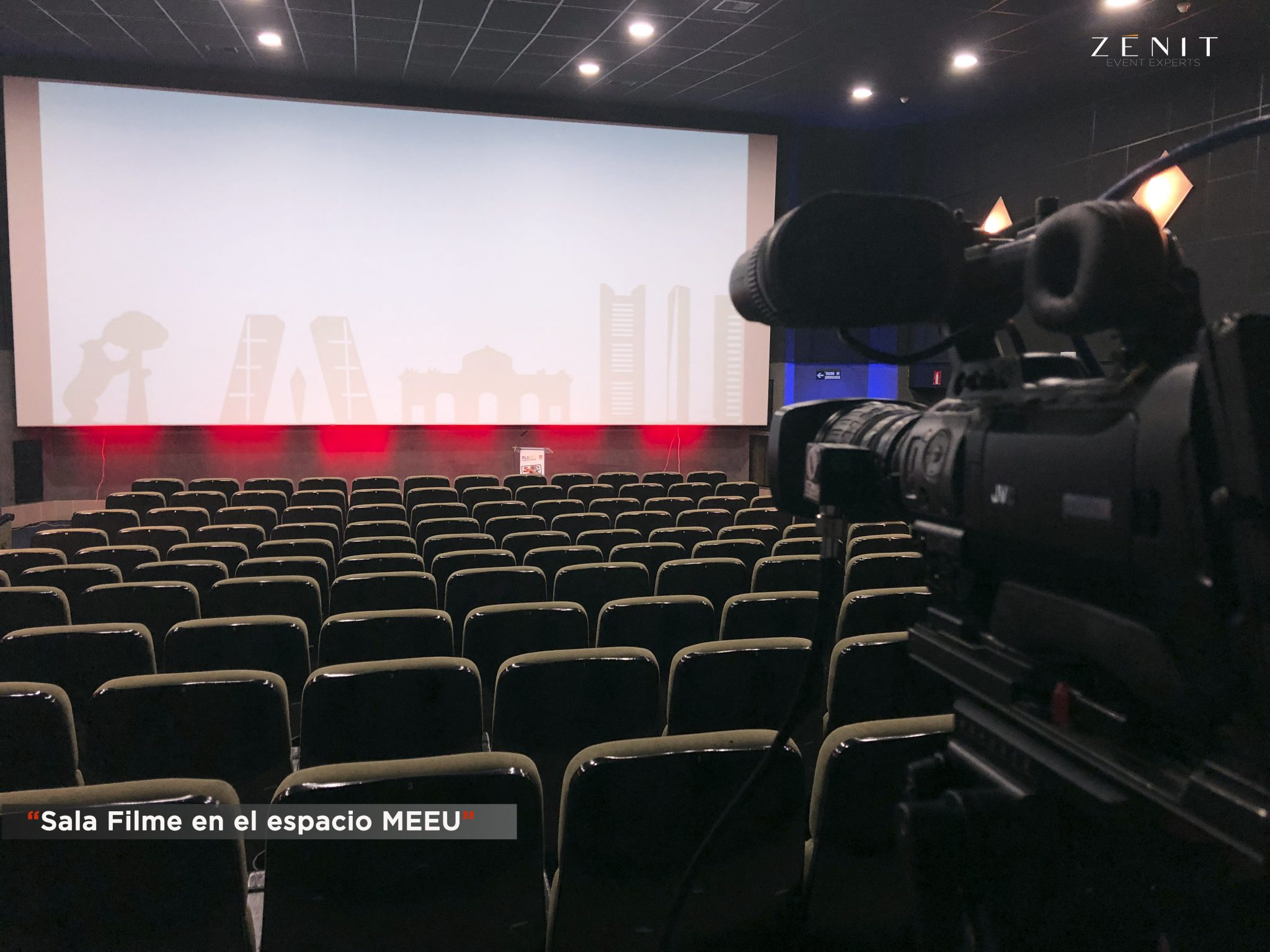 Zenit Event Experts. Sala Filme.